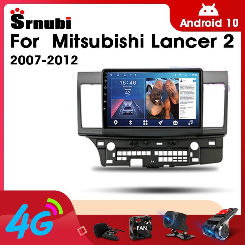 Фото - Автомагнитола 2 Din, Android 10,0, стерео, аудио, Радио для Mitsubishi Lancer 2 2007-2012, мультимедийный видеопроигрыватель с сенсорным экраном, 4G, Wi-Fi, динамик автомагнитола jmcq 2 din android 10 для renault megane 2 2002 2009 мультимедийный видеопроигрыватель с сенсорным экраном gps rds dvd