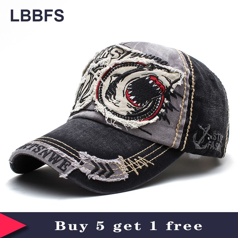 [LBBFS] Wholesale 5pcs/Lot Fashion Embroidery Baseball Cap Adjustable Snapback Hats for men and women NO035