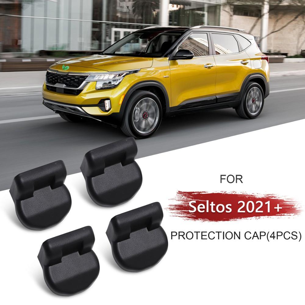 LFOTPP Einstellbare Sitz Rutsche Bolzen Abdeckung Für Seltos 2021/Celltos 2019 2020 Vorne Sitz Schraube Cap Auto Interior Styling liefert
