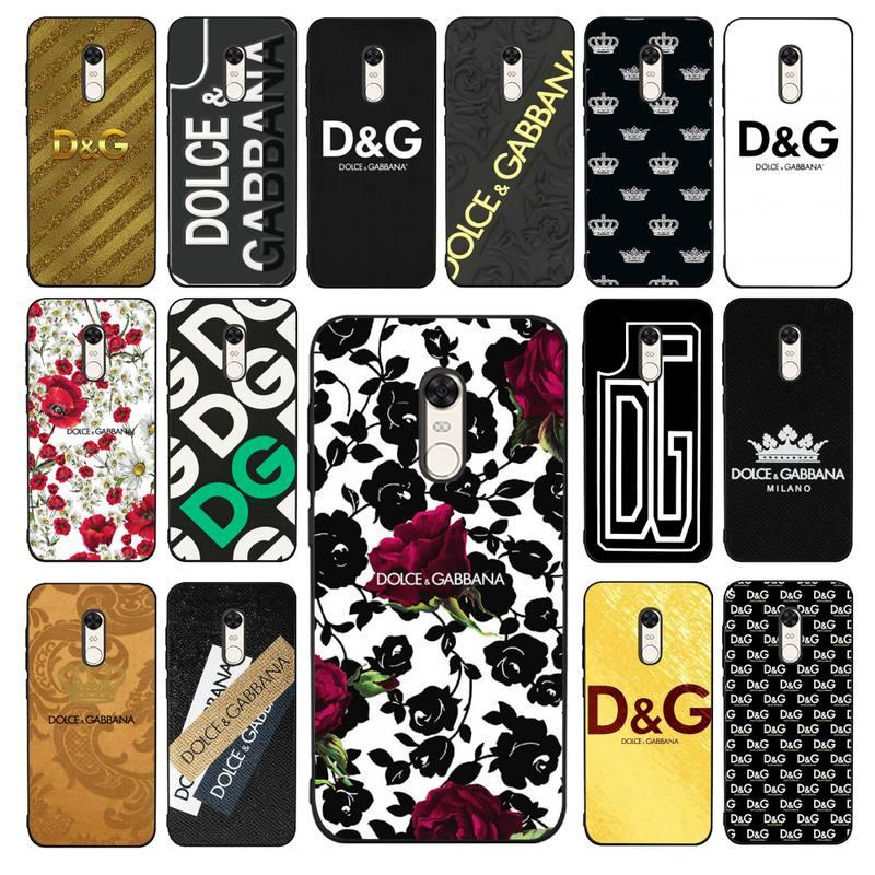 Yndfcmb marcas de luxo europeu caso telefone para redmi 4x 5 plus 5 6 7 8 9 a 6pro ir k20 capa