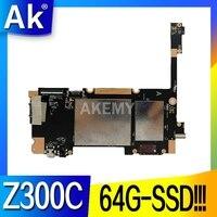 Новинка! Максимальная конфигурация оригинал для For Asus ZenPad 10 Z300C планшеты материнская плата Mainboard логическая плата W/ 64G-SSD 2G-RAM C3200