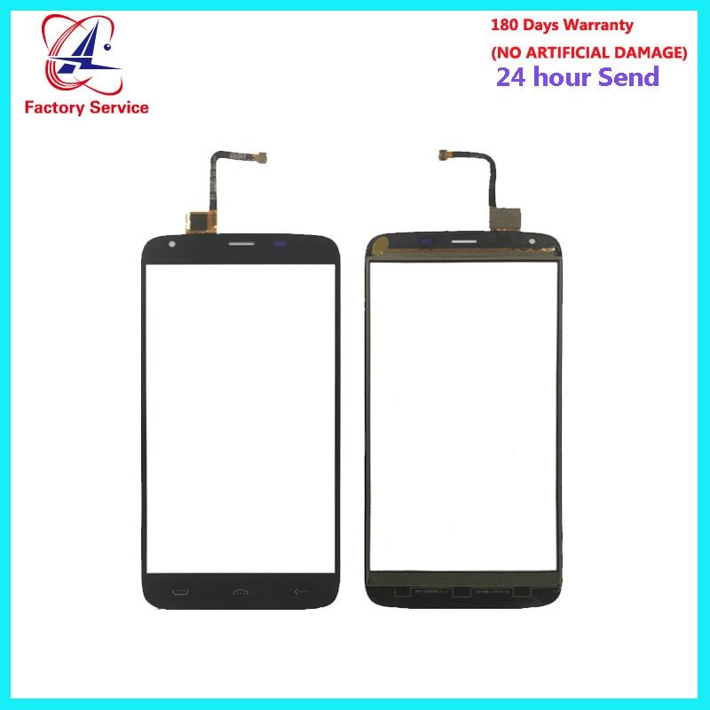 Para DOOGEE T6 pantalla táctil de cristal digitalizador Panel lente Sensor vidrio + herramientas 5,5 pulgadas al por mayor en stock