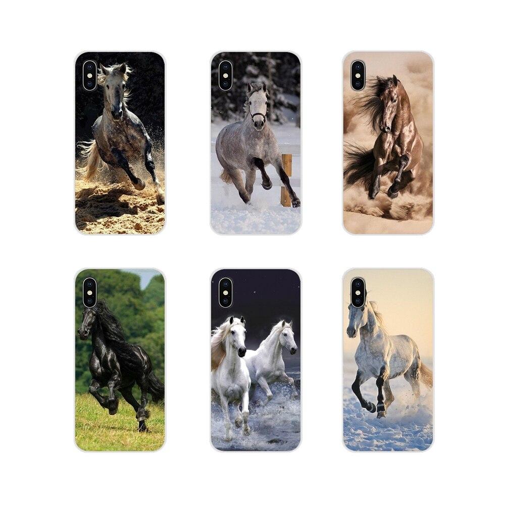 Accesorios fundas de teléfono fundas de caballo para Samsung A10 A30 A40 A50 A60 A70 Galaxy S2 Note 2 3 Grand core Prime