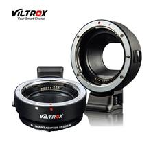 Viltrox EF-EOSM eos m EF-S m2 m3 m5 m6 m10 m50 m100 카메라에 캐논 eos ef EF-M 렌즈 용 전자식 자동 초점 렌즈 어댑터