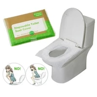 3packs 30pcslot disposable toilet seat cover 100 waterproof safety travelcamping bathroom accessiories mat portable