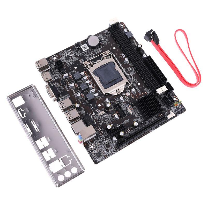 New P8H61-M LX3 PLUS R2.0 Desktop Motherboard H61 Socket LGA 1155 I3 I5 I7 DDR3 16G uATX UEFI BIOS Mainboard