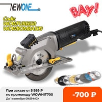 NEWONE Electric Mini Circular Saw With Laser For Cut Wood PVC tube 15pcs Discs Multifunctional Electric Saw DIY Power Tool