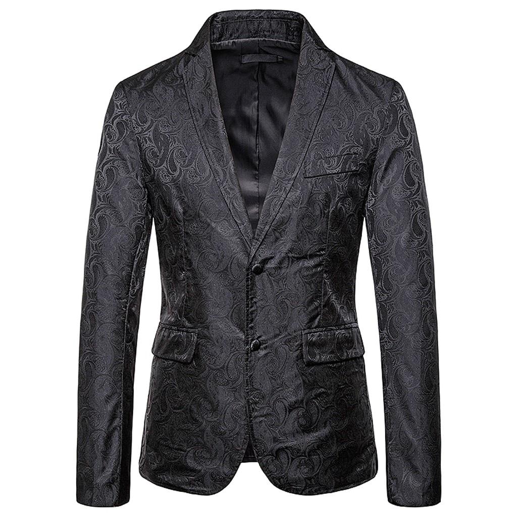2020 estampado a la moda traje abrigo vestido de negocios boda blazer hombres slim fit casual trajes rojo sexy blazer chaqueta de leopardo abrigo