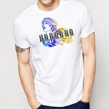 Final Fantasy Tidus Ah Ha camisa-Camiseta divertida-regalo divertido 2Xl 11Xl Tee camisa