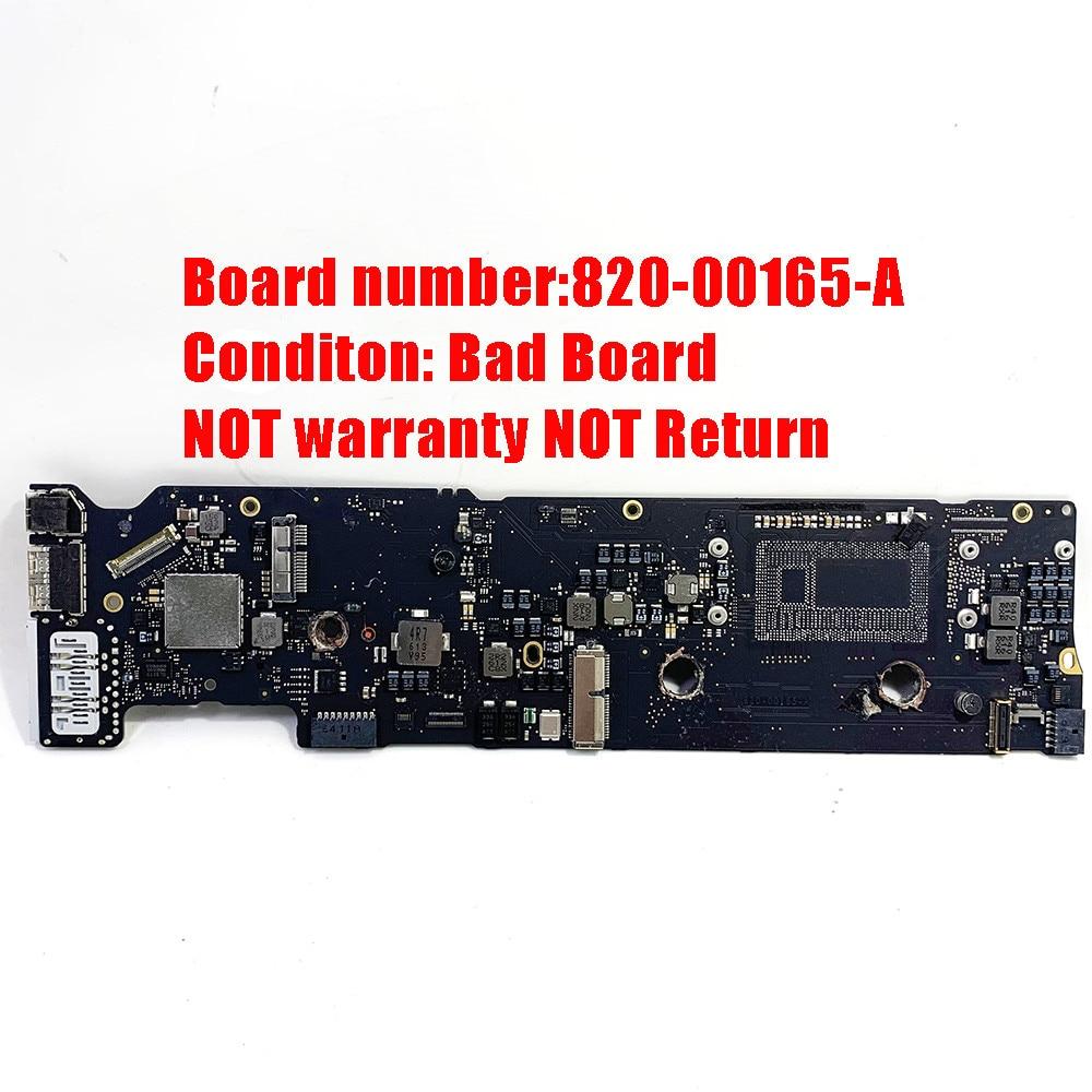 اللوحة الأم لجهاز Macbook Air/APPLE SHELI ، 820-00165-A A1466 ، 13 بوصة ، لوحة منطقية ، 2015 820-00165-A