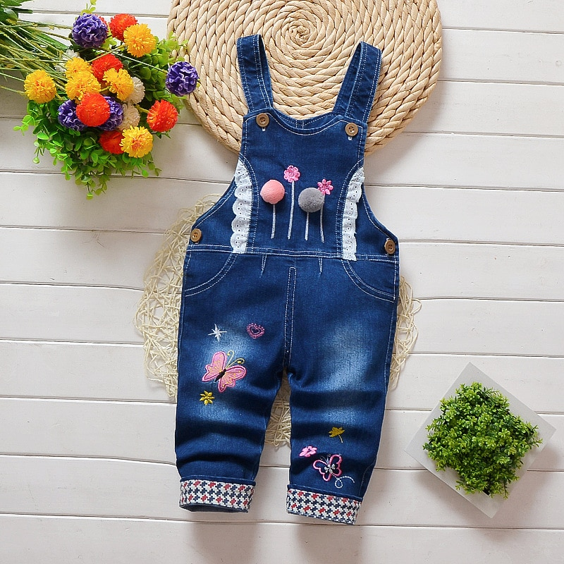 AliExpress - IENENS Kids Baby Girls Clothes Clothing Trousers Jumpsuit Playsuit Toddler Infant Girl Long Pants Denim Jeans Overalls Dungarees