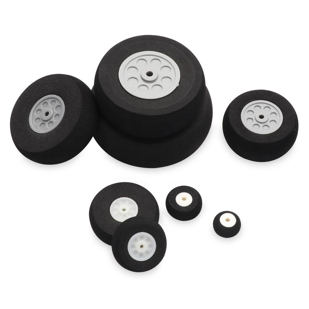 Tail Wheel Rubber PU Plastic Hub 1