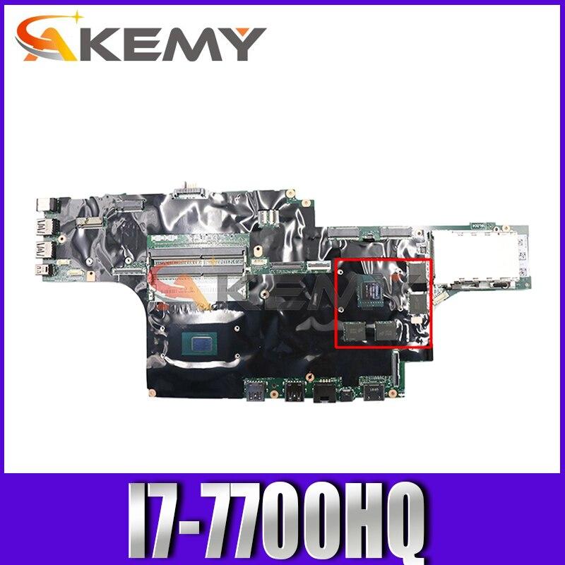 اللوحة لابتوب لينوفو ثينك باد P51 I7-7700HQ M1200M 4G NM-A451 01AV359 N17P-Q1-A2 اللوحة