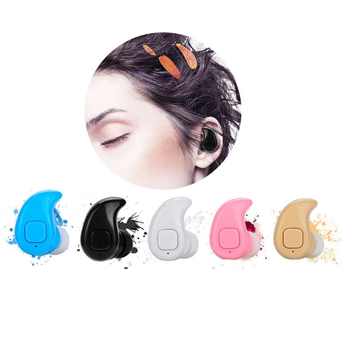 S530X auricular Bluetooth Mini auriculares inalámbricos Bluetooth V4.0 auricular Invisible portátil de una sola oreja estéreo para smartphone