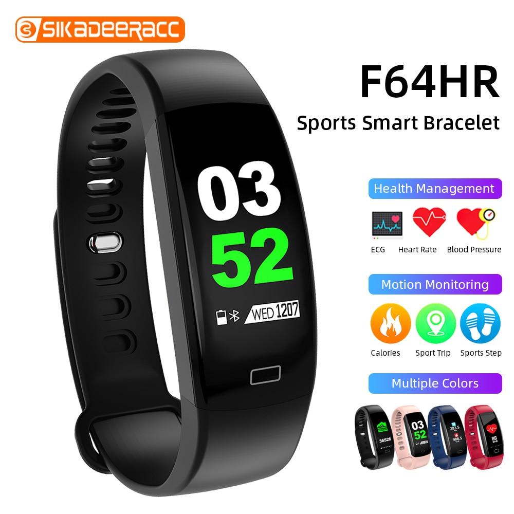 Banda inteligente para entrenamiento Bluetooth pulsera GPS podómetro pulsera inteligente Monitor de ritmo cardíaco durante el sueño IP68 rastreador deportivo presión arterial