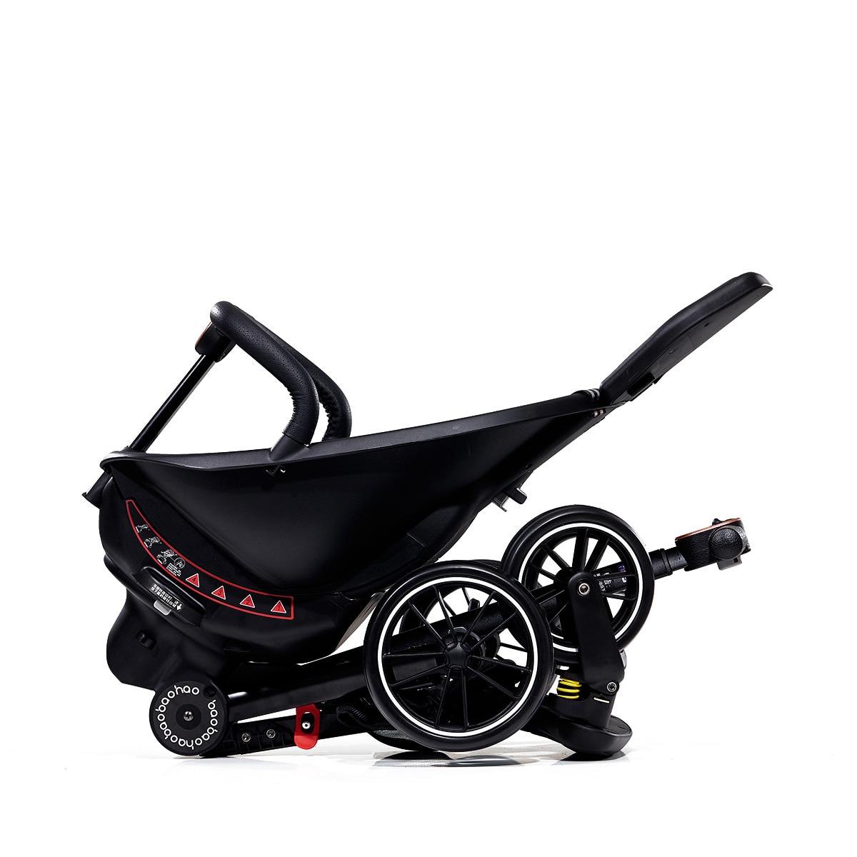 2021 Luxury Baby Stroller Four Wheels Reversible Portable Folding High Landscape Baby Stroller Newborn Baby Wheelchair Pram 0-3Y enlarge
