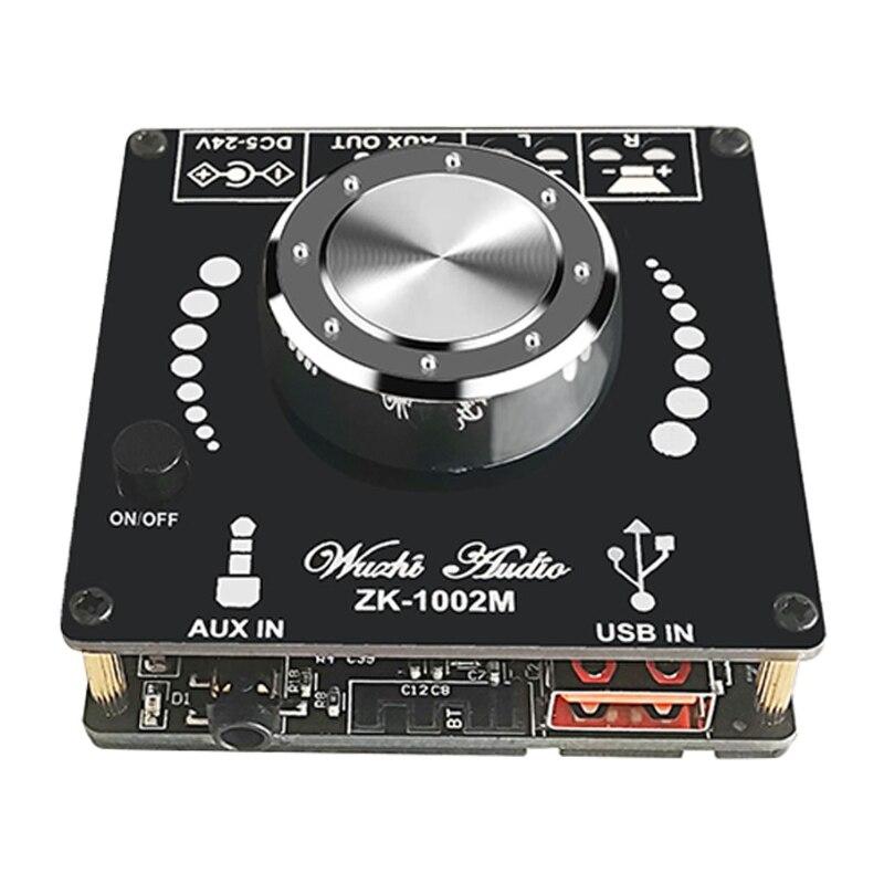 Placa amplificadora para Subwoofer, ZK-1002M, 100W + 100W, Bluetooth 5,0, placa amplificadora...