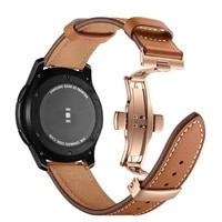 watch band 22mm genuine leather strap for huawei gt gt2 46mm watch strap replacements honor magic watch mens strap