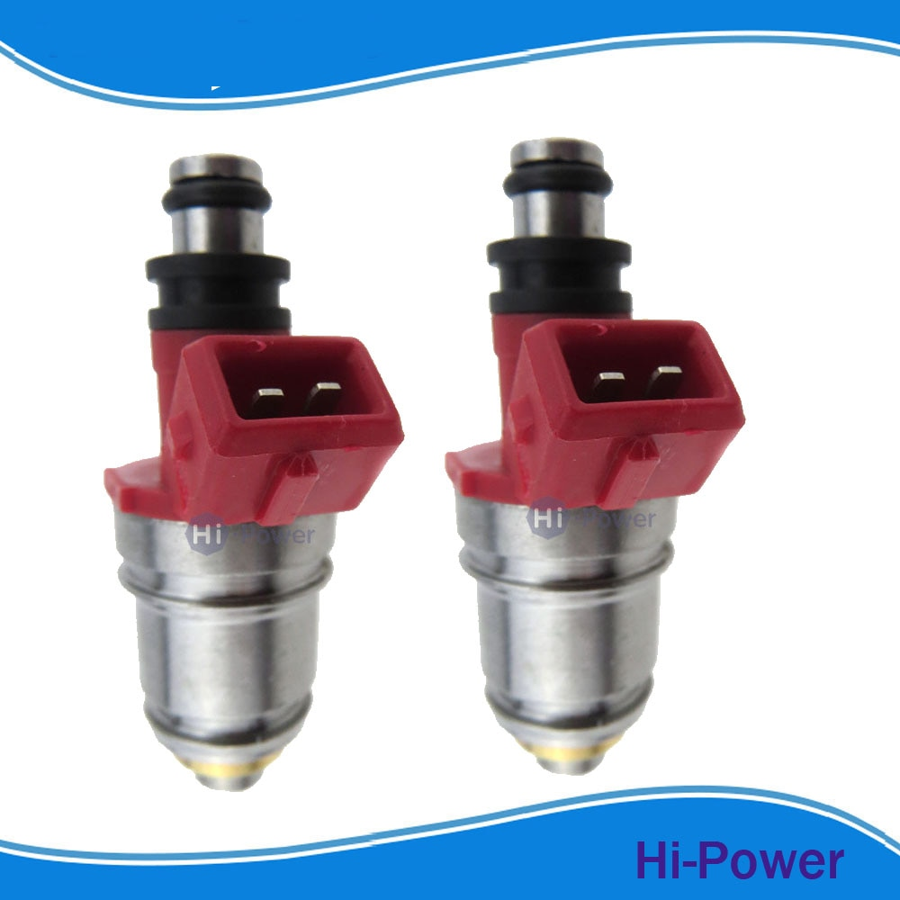 2 piezas inyector de combustible boquilla 1660086G00 16600-86G00 JS21-1 1660086G10 16600-86G10 para Nissan Pickup D21 2.4L