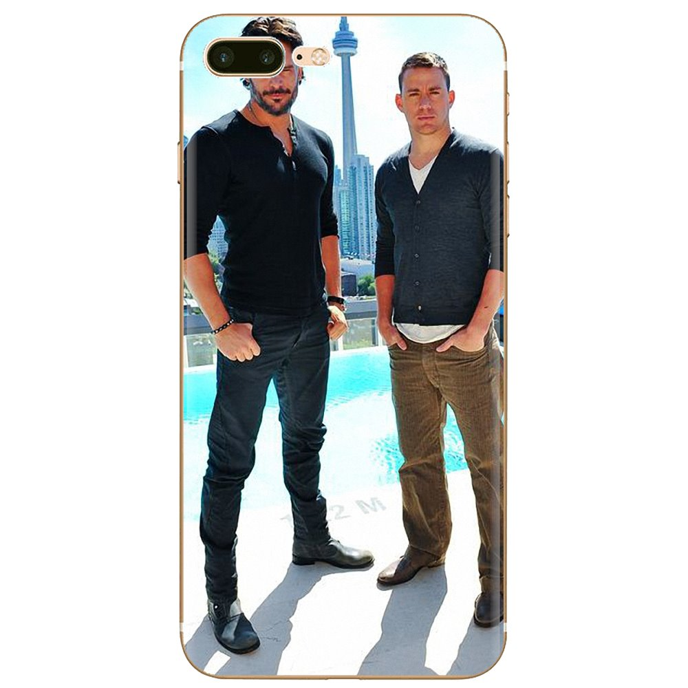 Channing Tatum Star Magic Mike suave de silicona TPU caso para iPhone 11 Pro 4 4S 5 5S SE 5C 6 6S 7 7 8 X XR XS Plus Max para iPod Touch