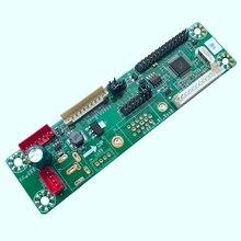 Placa controladora Lcd Universal LVDS de 10-42 pulgadas, programa libre de MT561-MD, 12V, 25 tipos de cables de salto VGA + DC