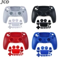 jcd for ps5 protective shell protection case cover with full set buttons keys for ps5 game console accessories
