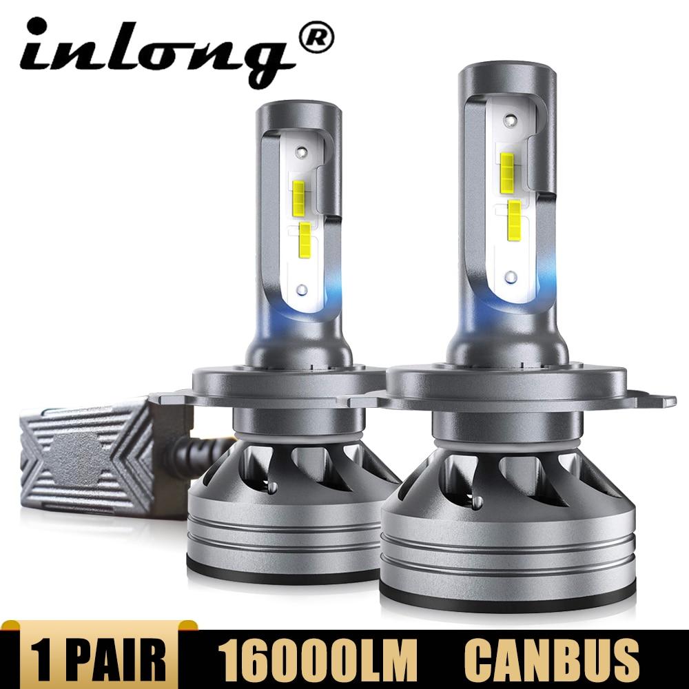 Inlong H4 Led Canbus H7 Led-lampen SAMSUNG Chips H8 H1 H11 9005 HB3 HB4 9006 LED Auto Auto Scheinwerfer lampe Scheinwerfer 6000K Nebel Licht