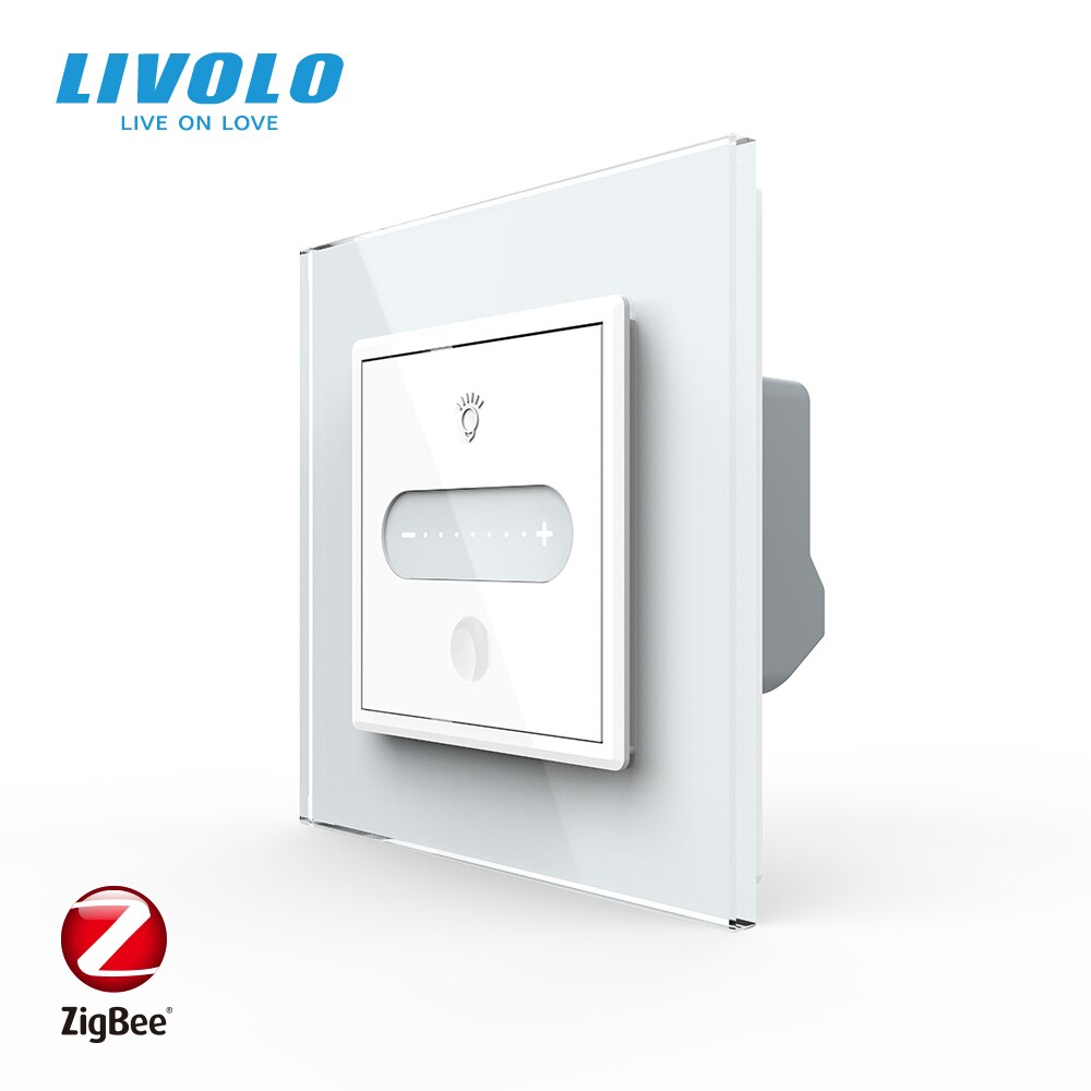 LIVOLO EU standard Smart Wifi Slide 2Ways Touch Dimmer Switch,Adjustable Lighting,Seven Gears Dimmable,google home alexa control