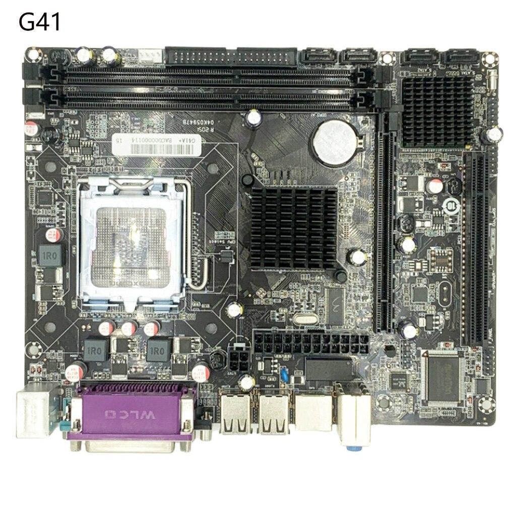 Z77A-G41/775 دبوس اللوحة الأصلية ل DDR3 LGA 1155 لوحات دعم ثنائي النواة أربعة الأساسية L5420E7500CPU ATX اللوحة الأم