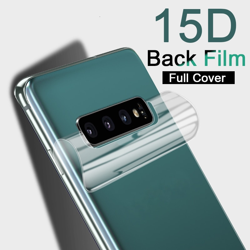 HD 15D Back Screen Protector For Samsung Galaxy Note 8 9 10 Pro A10 A50 Hydrogel Film For Samsung S1