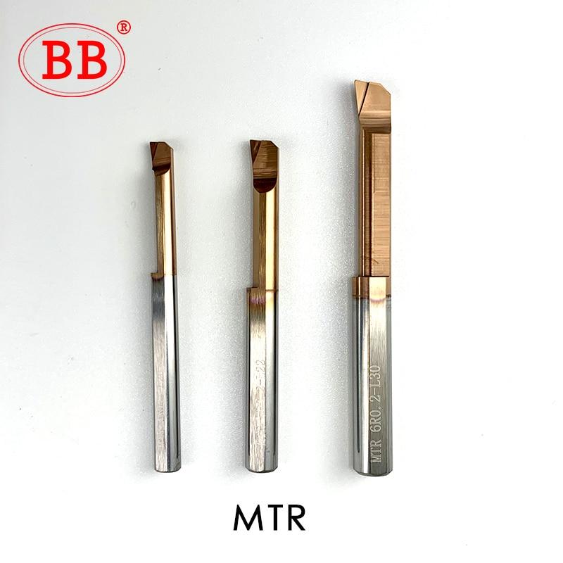 BB MTR MQR MUR MPR MKR MNR MXR Carbide Lathe Boring Cutter Coated Mini Internal Turing Tool Copying Small Hole 4mm 5mm 6mm 8mm