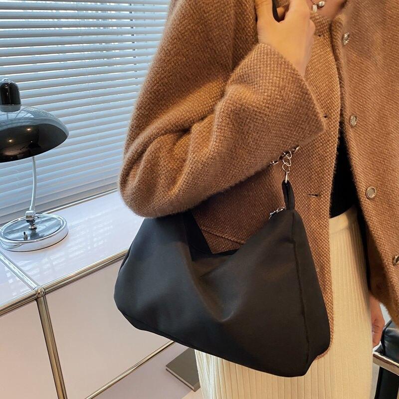 Сумка через плечо, сумка, кошелек, сумка на плечо, женская дизайнерская сумка, модная простая Холщовая Сумка 2021, новая Универсальная вместительная сумка на молнии