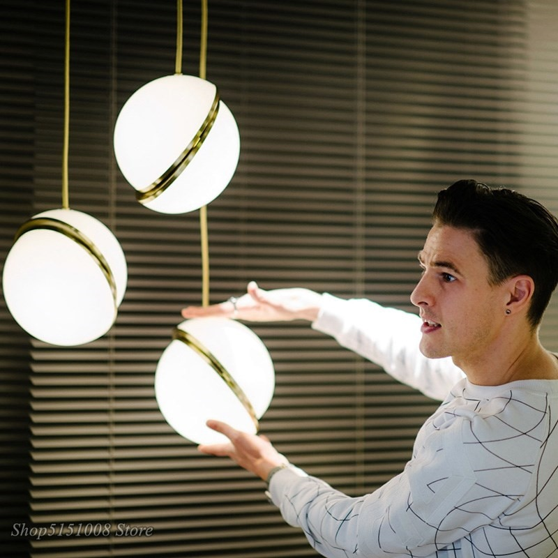 Moderno colgante led luces para nórdicos comedor lámpara de cocina suspendida por un café en casa lámpara colgante casa Decoración Accesorios