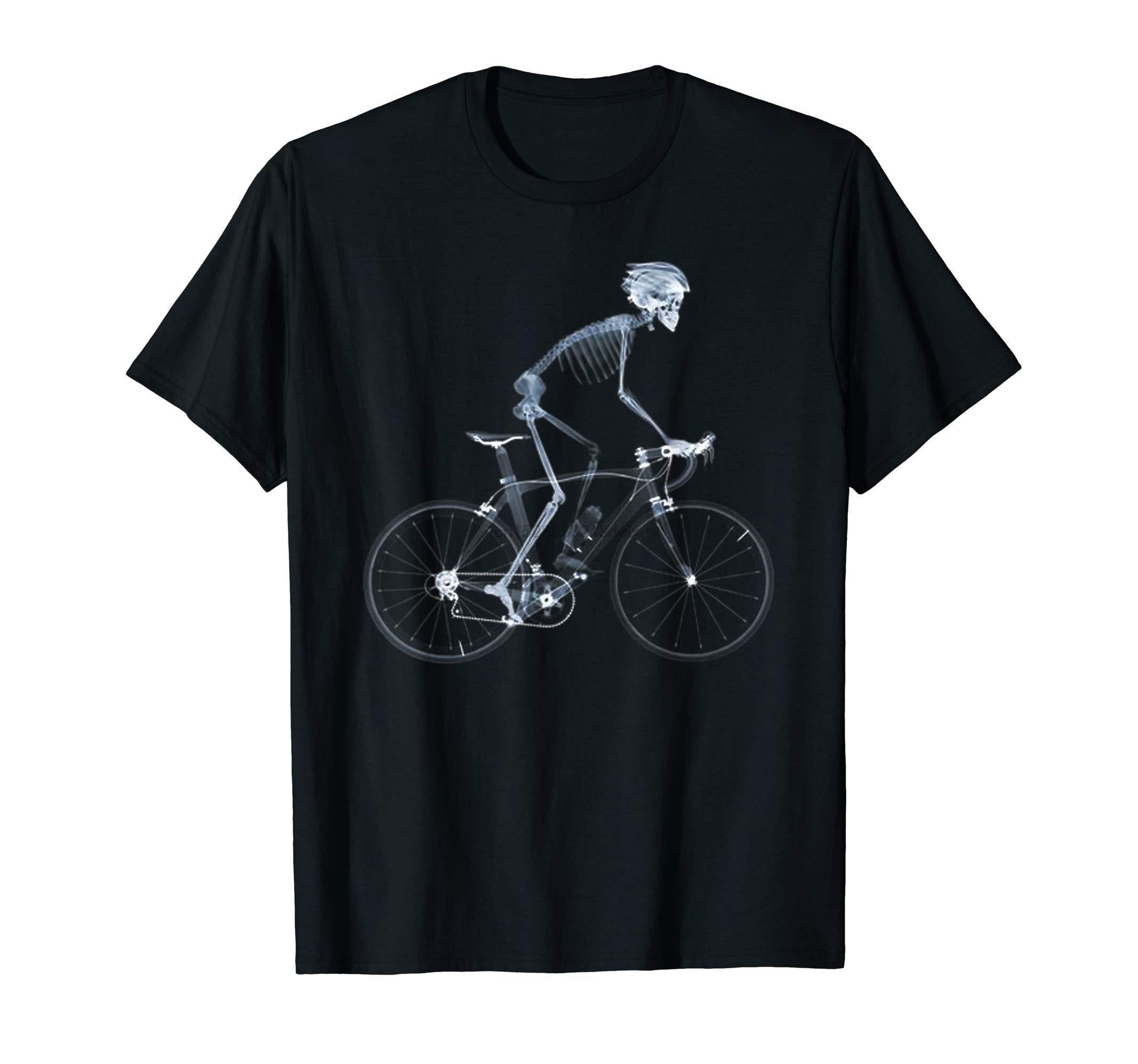 Bicicleta camiseta ciclo ciclismo-x-ray para a vida presente perfeito