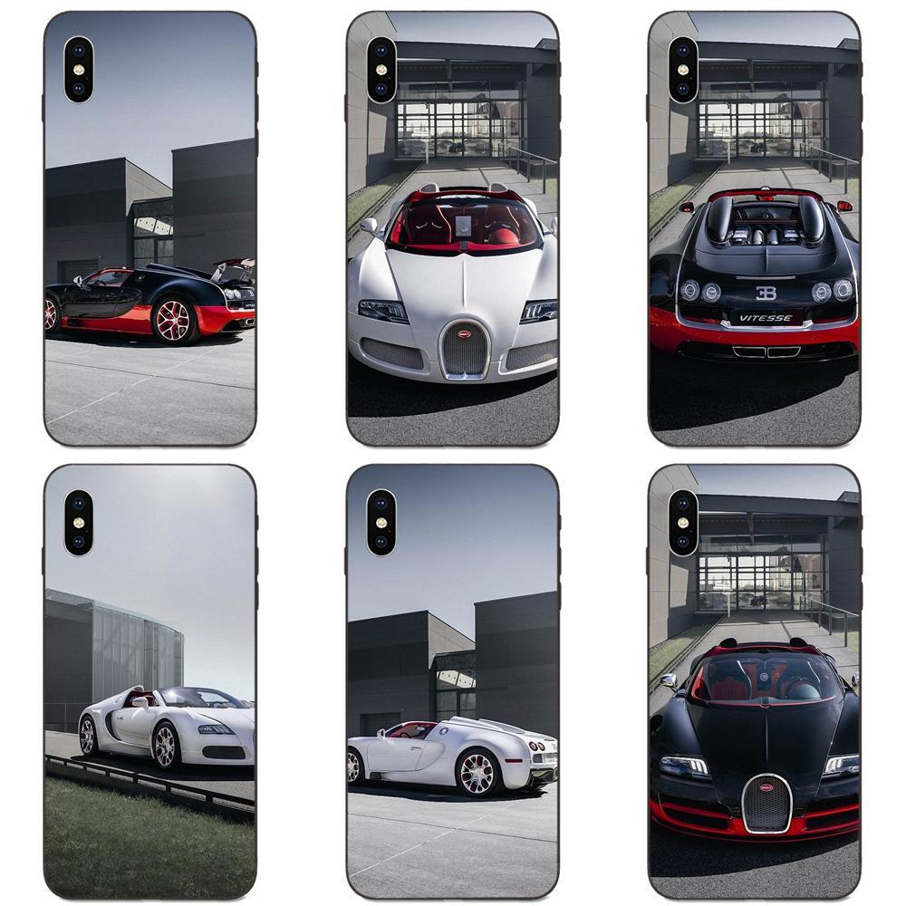 Para Xiaomi Redmi Note 3 S 3 S 4 4A 4X4 5X5 5A 6 6A 7 7A K20 Plus Pro S2 Y2 Y3 suave coche nuevo Bugatti Veyron