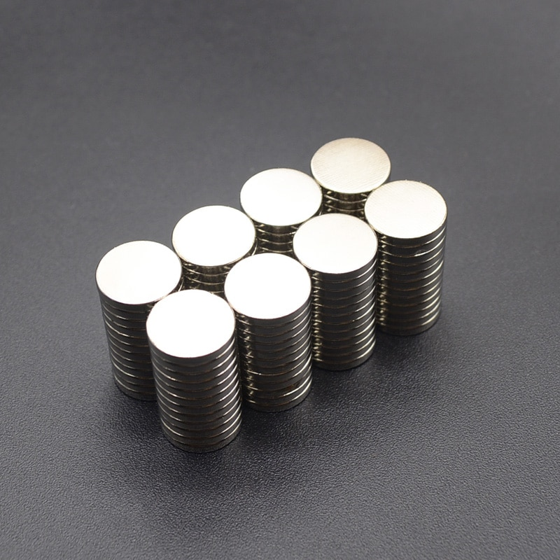 10pcs Round Magnet 8x2 10x2 12x3 6x3 10x3  Neodymium Magnet Permanent NdFeB Super Strong Powerful Magnets