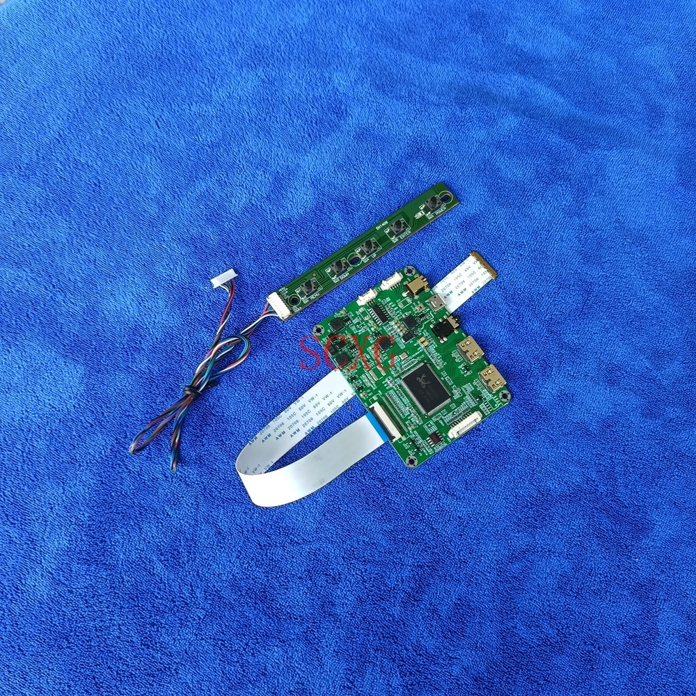1920*1080 Fit N156HCE-EAA/EBA/EN1/GN1 N156HCG-GQ1 مجموعة لوحة تحكم العرض 2Mini HDMI-متوافق 5 فولت المصغّر USB EDP 30-Pin LCD