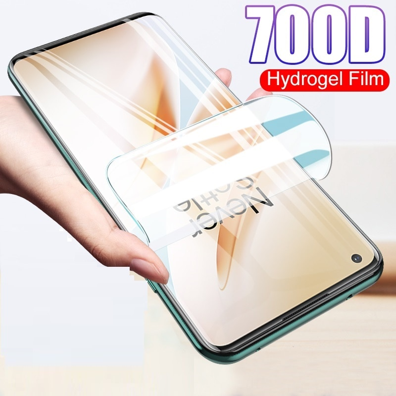 9D Protective Hydrogel Film For Oneplus 3 3T 5 5T 6 6T 7 7T 8T Screen Protector 1+5 1+7T One Plus no