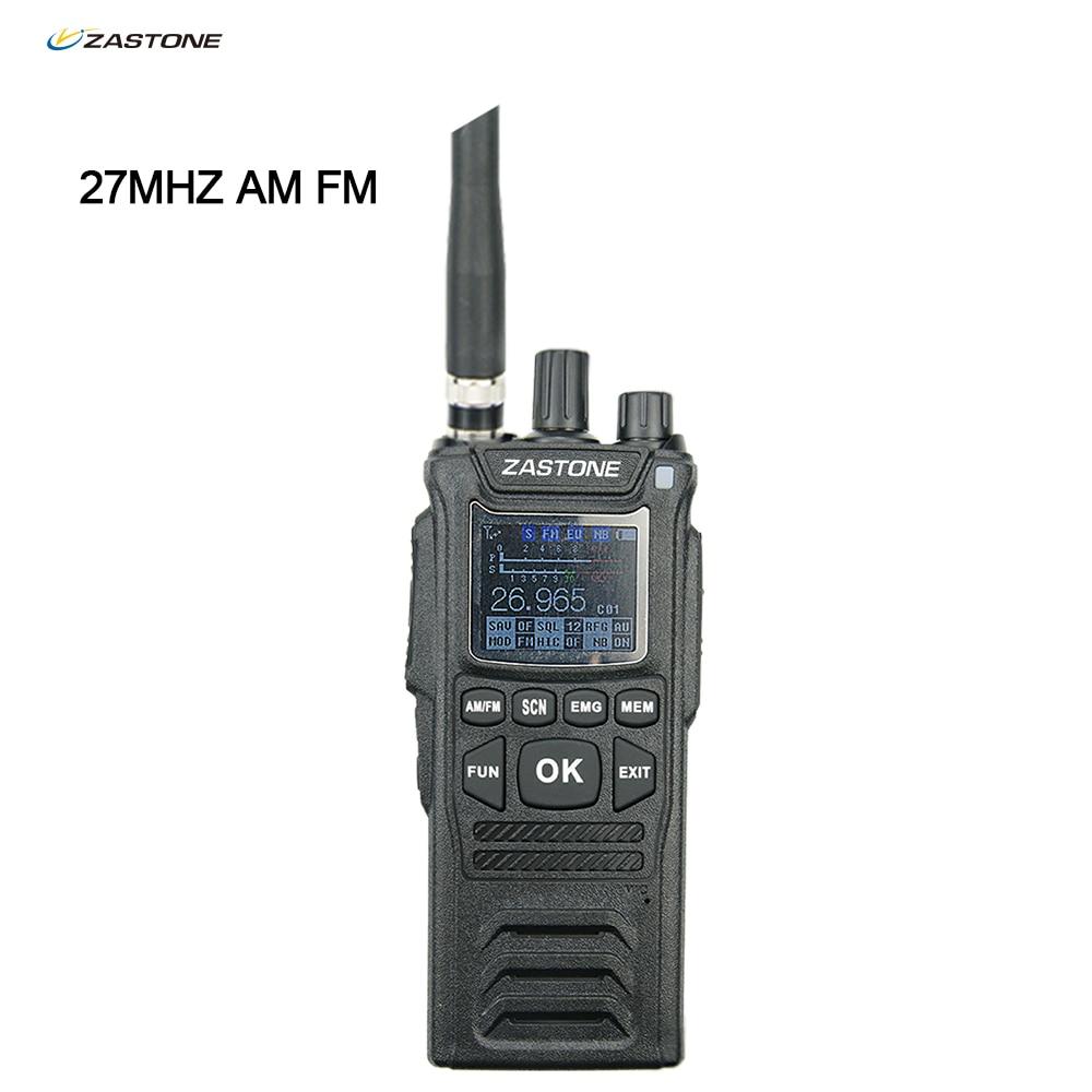 2021 Zastone CB-58 27MHZ CB Walkie Talkie Ham Radio 4W 26.965-27.405Mhz FM AM Mode Citizen Band Radio Handheld Cb