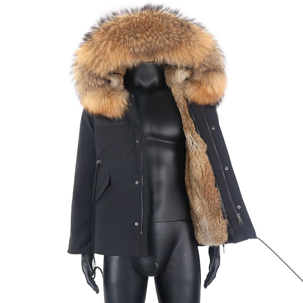الرجال سترة الشتاء طول منتظم معطف غير رسمي مقاوم للماء سترة سميكة الدافئة المتضخم سترة واقية موضة ملابس خارجية