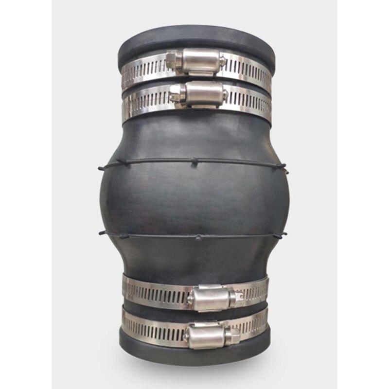 مشبك من الفولاذ المقاوم للصدأ نوع KXT وصلة مطاطية مرنة الأنابيب المطاطية المشتركة مرنة المشبك متصلة DN25-DN100