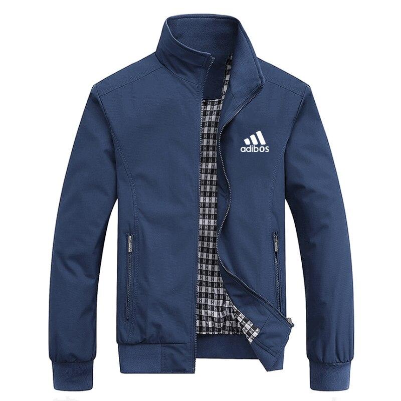 2021 Spring And Summer New Bomber Zipper Jacket Men's Streetwear Hip Hop Slim Fit Pilot Coat Men Clo
