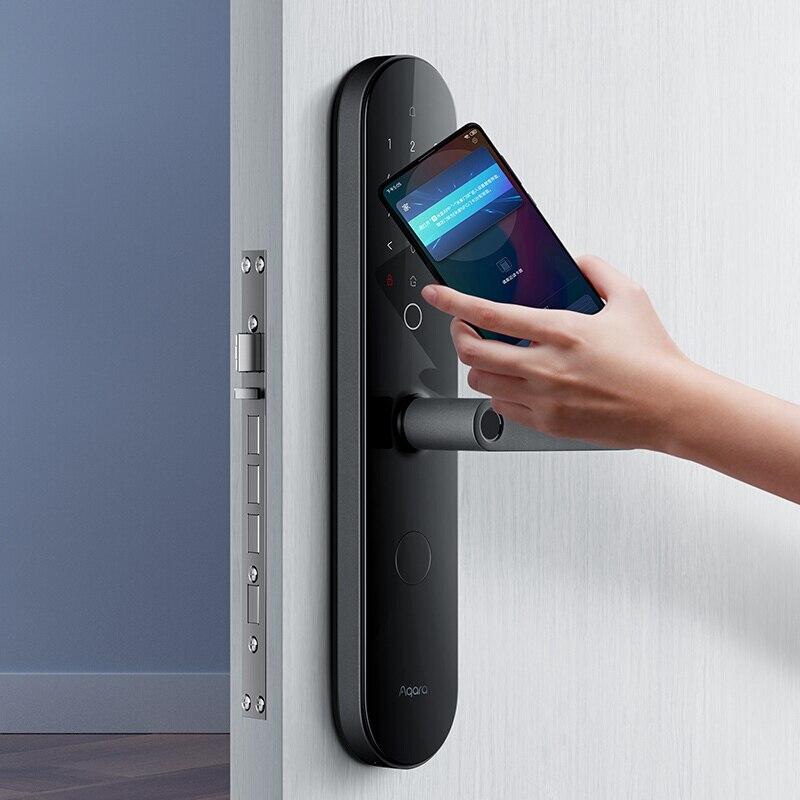 Denk modo Smart Door Lock N100 Fingerprint Bluetooth Password NFC Unlock Works with Mijia HomeKit Smart Linkage with Doorbell