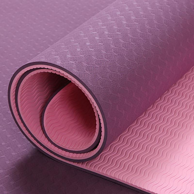 Colchoneta de Yoga antideslizante para Fitness alfombra para gimnasio y Yoga, de...