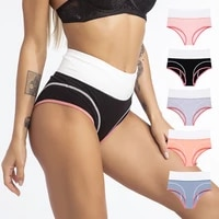 panties for women sexy body shaper sports panties high waist cotton underpants plus size xs 3xl cozy briefs underwear for women