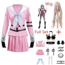 Danganronpa V3 Miu Iruma, disfraces de Cosplay, vestido de mujer, uniformes para niñas, accesorios de ropa