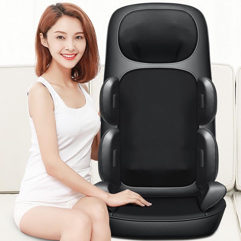 Almohadilla de masaje multifunción para el hogar, almohada de alivio Cervical, cinturón para el hogar