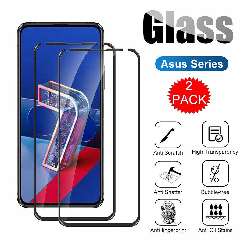 2 uds pantalla cristal Protector para ASUS Zenfone Max Pro ZA550KL ZE553KL...
