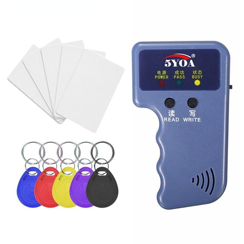 Дубликатор RFID 125 кГц, копировальный аппарат, записывающее программирующее устройство, считывающее устройство, устройство для чтения ID-карт ...