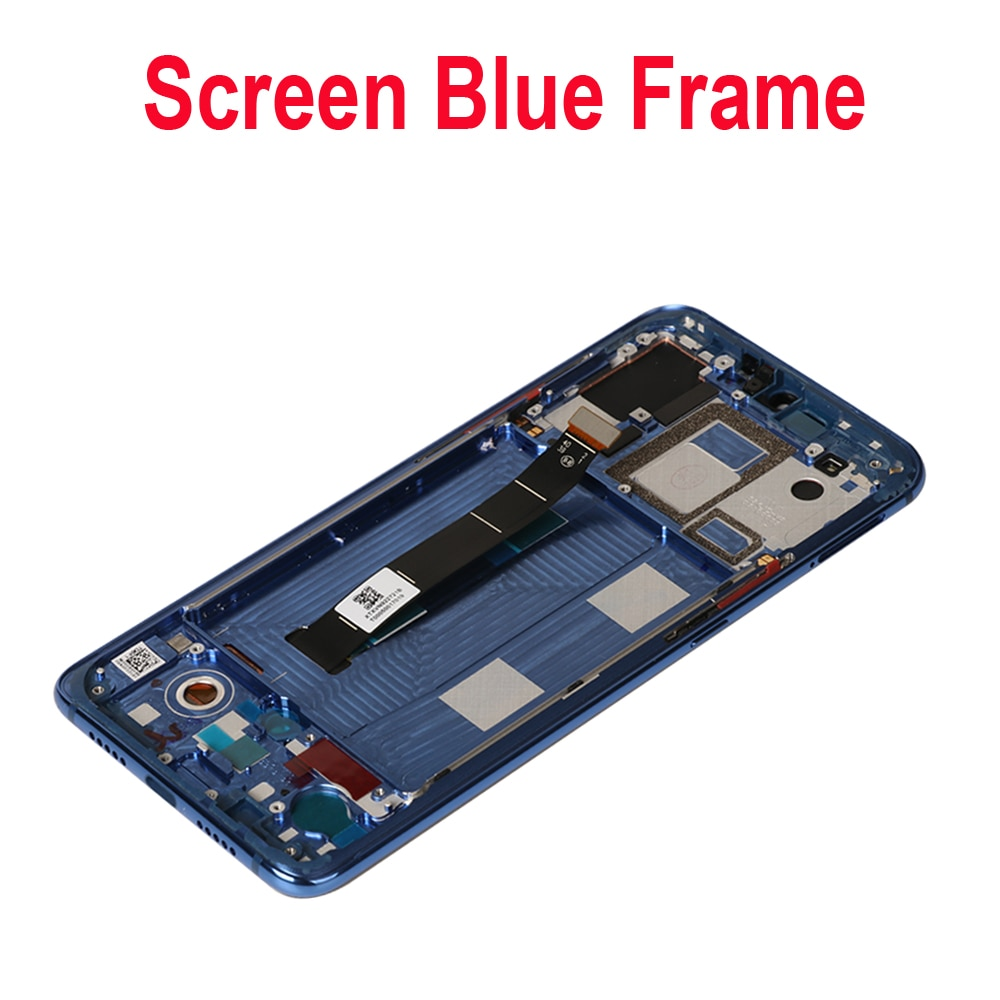 6.39'' AMOLED Display For Xiaomi Mi 9 LCD Display Touch Screen Digitizer Assembly with frame For Xiaomi Mi9 M1902F1G LCD Screen enlarge